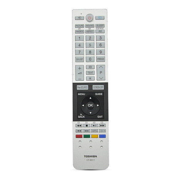 ORIGINAL TOSHIBA REMOTE CONTROL CT8517- REPLACE CT-8516 - 55U775* Series