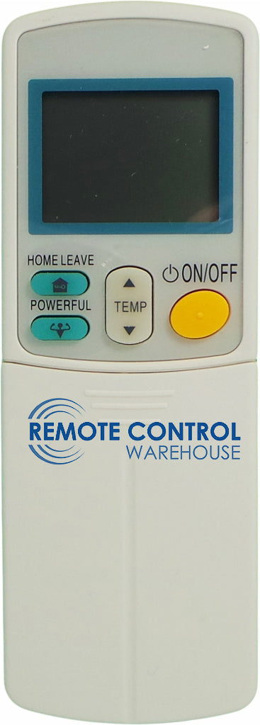 Replacement DAIKIN Air Conditioner Remote Control - ARC433B70 - Remote Control Warehouse