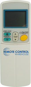 Replacement DAIKIN Air Conditioner Remote Control - ARC433A6 - Remote Control Warehouse