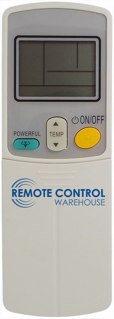 REPLACEMENT DAIKIN AIR CONDITIONER REMOTE CONTROL - ARC423A17 - Remote Control Warehouse