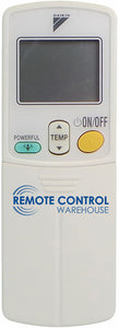 ORIGINAL DAIKIN Air Conditioner Remote Control - ARC423A2 - Remote Control Warehouse