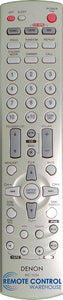 Original DENON Remote Control RC-1034  RC1034 - DRA-F102 RCD-DM33 AV RECEIVER - Remote Control Warehouse