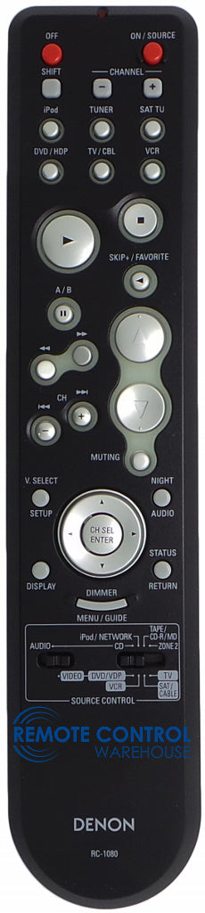 Original DENON Remote Control RC 1080 - Remote Control Warehouse