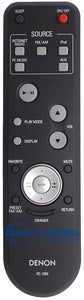 DENON Remote Control RC 1089 for AV RECEIVER - Remote Control Warehouse