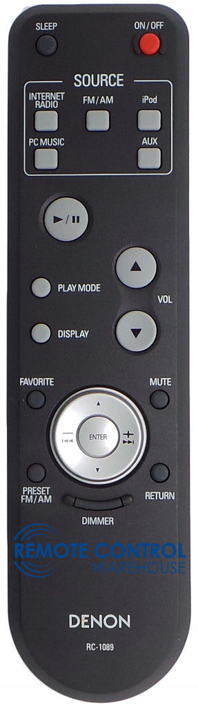 DENON Remote Control RC 1089 for AV RECEIVER