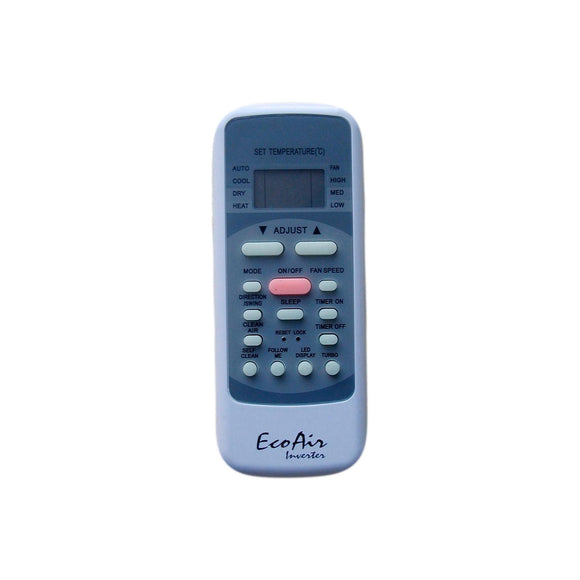 EcoAir Air Conditioner Remote Control - R51I4/BGE - Remote Control Warehouse