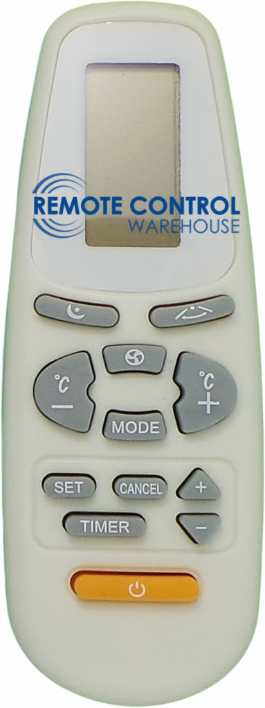 Replacement  FUJITA   Air Conditioner Remote Control - FJASW24023 - Remote Control Warehouse