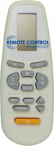 Replacement AUX Air Conditioner Remote Control YK(R)-C/01E - Remote Control Warehouse