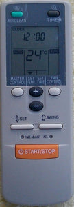 REPLACEMENT Fujitsu Air Conditioner Remote Control AR-JW28  ARJW28 - Remote Control Warehouse