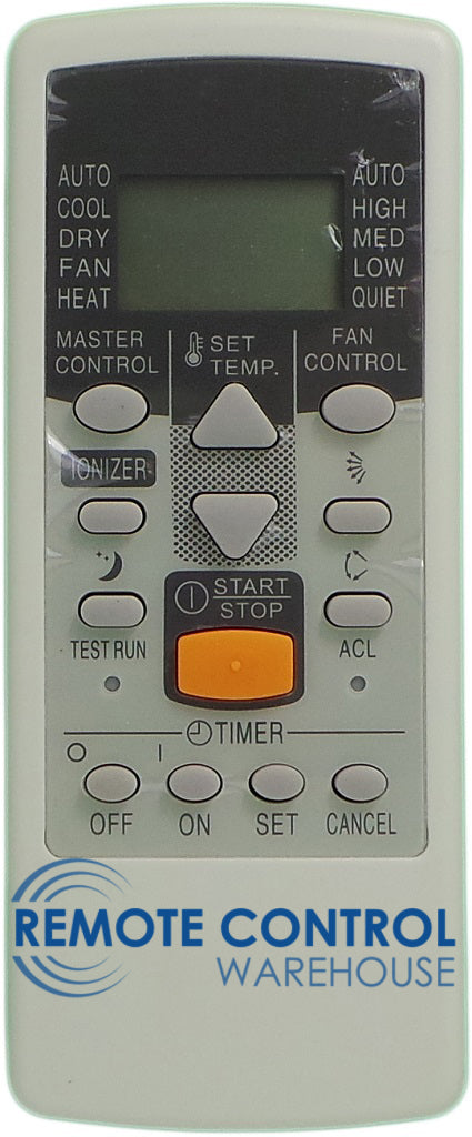REPLACEMENT Fujitsu Air Conditioner Remote Control AR-JE5   ARJE5 - Remote Control Warehouse