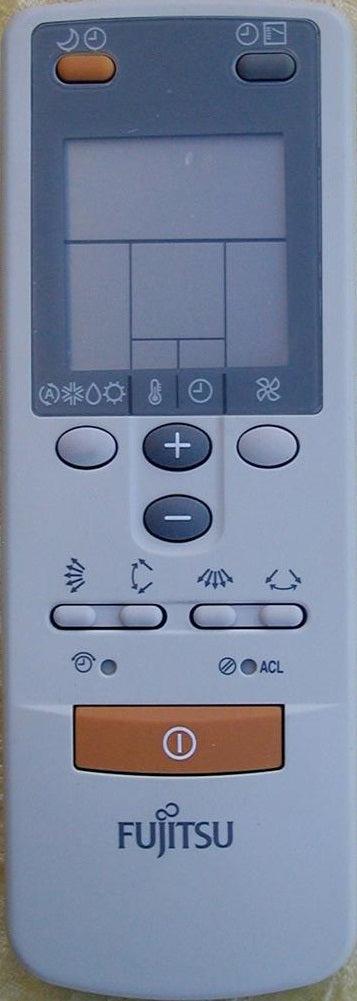 Original Fujitsu Air Conditioner Remote Control ARJW19 AR-JW19