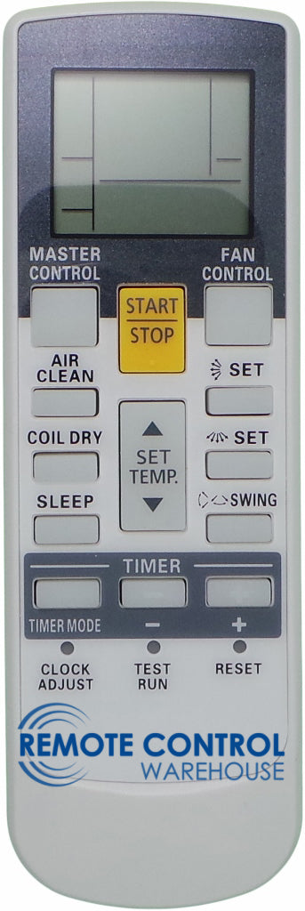 REPLACEMENT Fujitsu Air Conditioner Remote Control AR-RY18   ARRY18 - Remote Control Warehouse