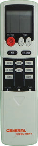 GENERAL Air Conditioner Remote Control - DH/YT-03  DH/YT03 - Remote Control Warehouse
