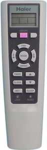 Haier Air Conditioner Remote Control YR-W01 - Remote Control Warehouse