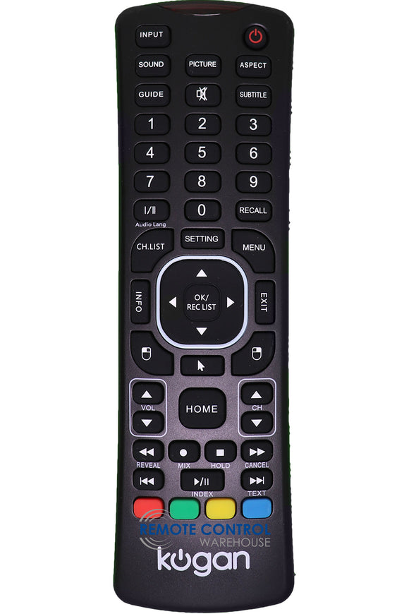 KOGAN KALED43KU8000SZA SMART 4k LED TV ORIGINAL REMOTE CONTROL