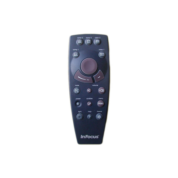 INFOCUS PROJECTOR REMOTE CONTROL 590-0198-XX - Remote Control Warehouse