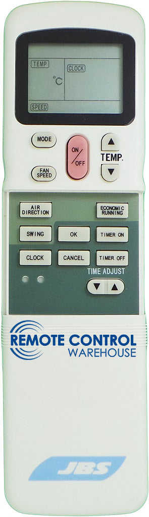 JBS Air Conditioner Remote Control - R11HG/E - Remote Control Warehouse