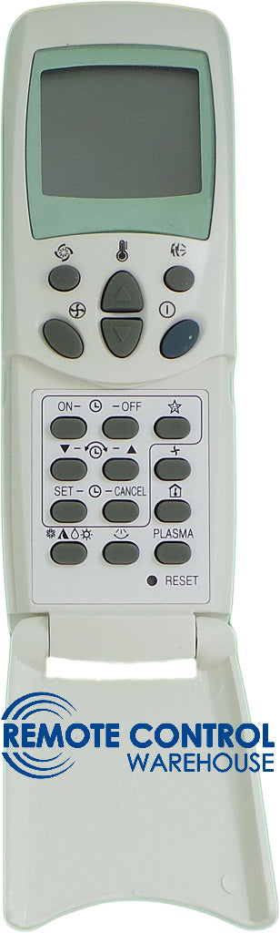 REPLACEMENT KELVINATOR AIR CONDITIONER REMOTE CONTROL - 671120010D KSR15C KSR15D