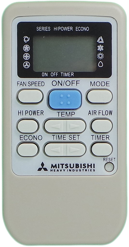 MITSUBISHI REPLACEMENT  AIR CONDITIONER REMOTE CONTROL RKS502A503 - Remote Control Warehouse