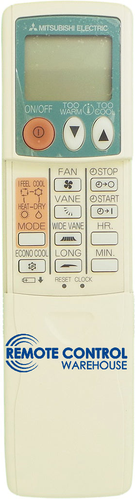 Original MITSUBISHI Air Conditioner Remote Control KM04A - MSH-A18ND-S1 MSH-A18VD-P1 MSH-26SV