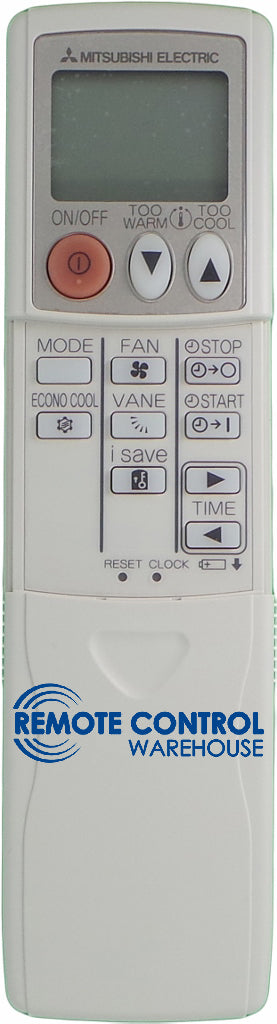 MITSUBISHI Air Conditioner Remote Control KM09A - MSZGE22VA MSZ-GE35VA MSZ-GE50VA - Remote Control Warehouse