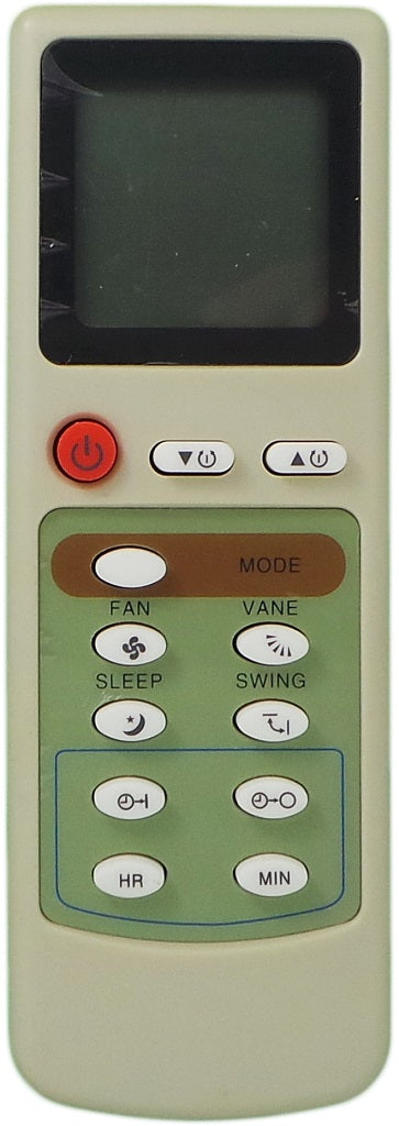 Replacement Ager Air Conditioner Remote Control - EG9 - Remote Control Warehouse