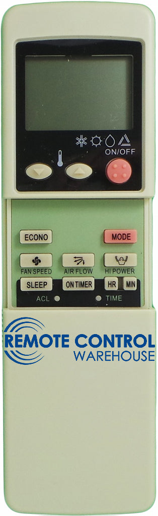 REPLACEMENT MITSUBISHI Air Conditioner Remote Control RKN502A500 - Remote Control Warehouse