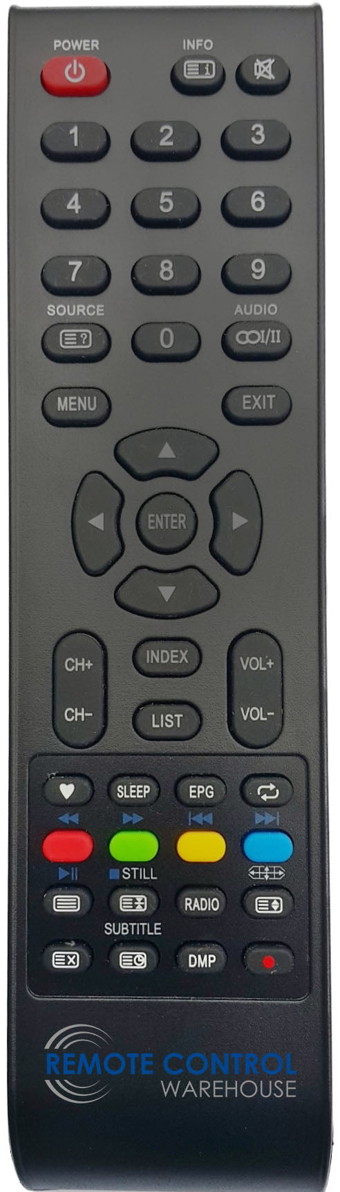 CHANGHONG ORIGINAL REMOTE CONTROL GCBLTV20A-C108 = RL67H-8 LED40D1000 LED TV