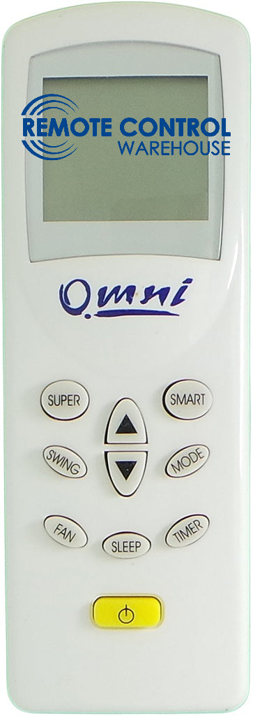 ORGINAL OMINI AIR CONDITION REMOTE CONTROL DG11D1-02 - Remote Control Warehouse