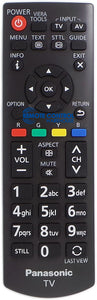 ORIGINAL PANASONIC REMOTE CONTROL N2QAYB000818 - TH-40E400A TH40E400A TV