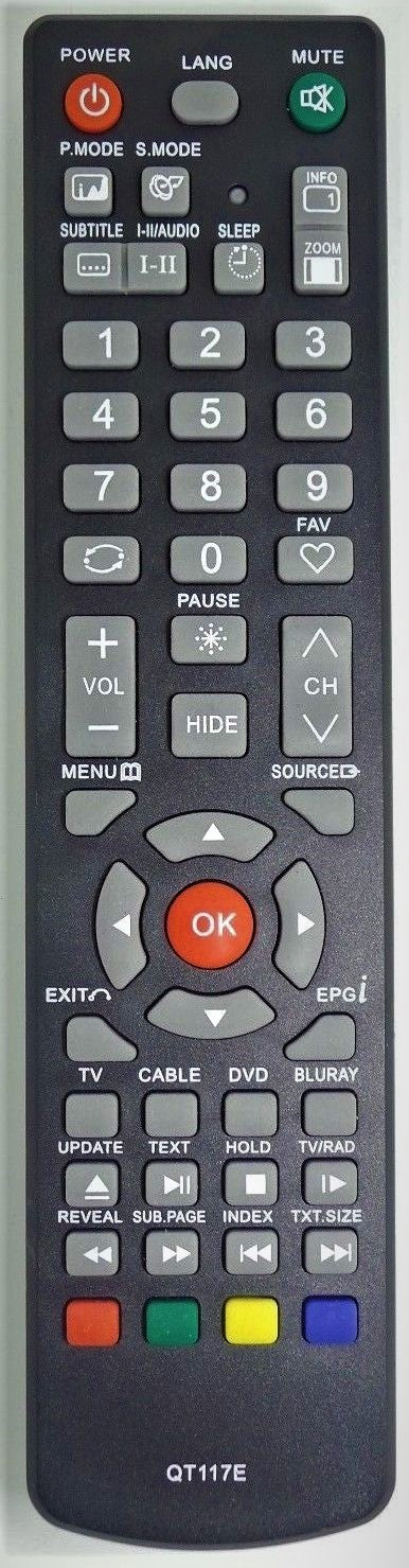 REPLACEMENT SENZU REMOTE CONTROL RC-D04 RCD04 - PD-4000 PD4000 TV - Remote Control Warehouse