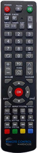 REPLACEMENT SONIQ REMOTE CONTROL  SUBSTITUTE  QT1E - S55UV16B-AU S65UV16A-AU TV