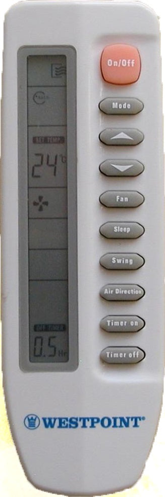 Dimplex Air Conditioner Remote Control R71/E For DSAC-21HRACl - Remote Control Warehouse