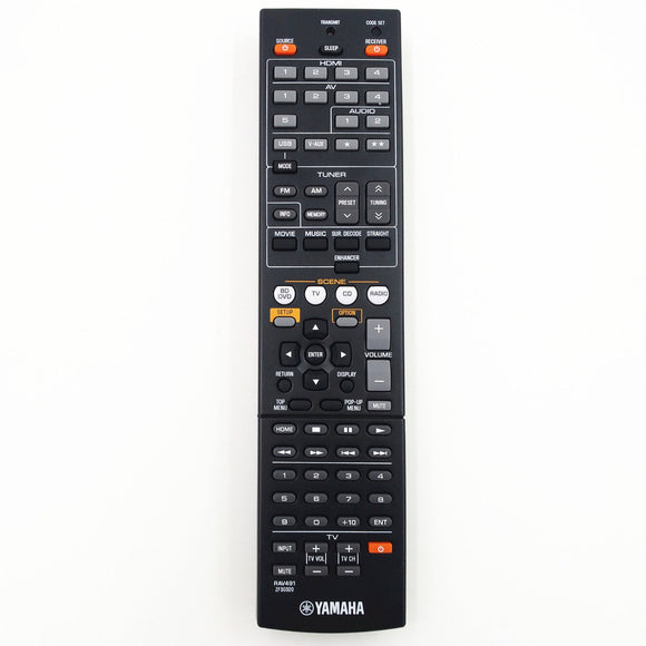 REPLACEMENT YAMAHA REMOTE CONTROL RAV491 - RX-A710  RXA710 AV  Receiver - Remote Control Warehouse