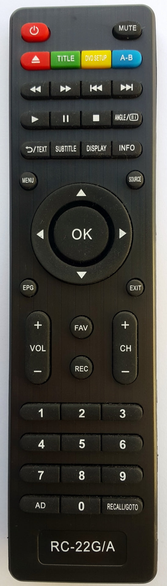GRUNDIG REPLACEMENT REMOTE CONTROL -  G24FLED/A LCD TV - Remote Control Warehouse