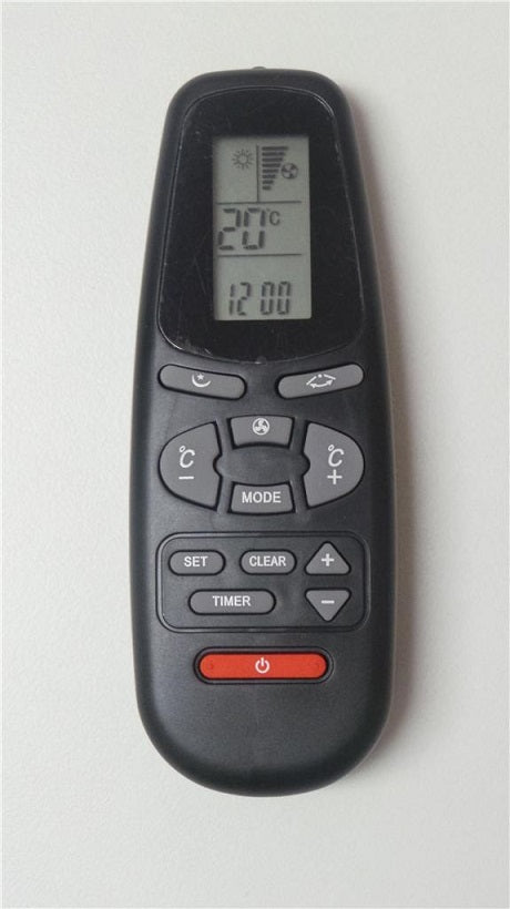Replacement Airwell Air Conditioner Remote Control RC-5 P/N:975-631-00 - Remote Control Warehouse