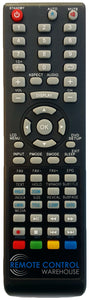 REPLACEMENT NEONIQ REMOTE CONTROL FOR NEONIQ TCM4201FHD  LCD TV - Remote Control Warehouse