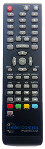 REPLACEMENT GVA REMOTE CONTROL - GVADLED39  TV - Remote Control Warehouse