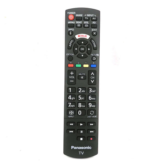 ORIGINAL PANASONIC REMOTE CONTROL N2QAYB001008 RC1008T - TH-40DX600U  TH-49DX600U  TH-55DX600U  TV - Remote Control Warehouse