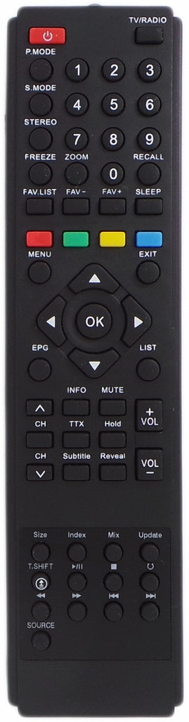 Replacement Sanyo Remoe Control RC-S071 RCS071 Suits LCD42XR10F LCD32XR11F LCD TV - Remote Control Warehouse