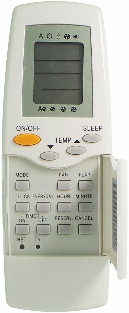 CARRIER AIR CONDITIONER 38G100H REPLACEMENT REMOTE CONTROL