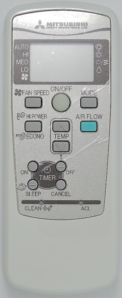 ORIGINAL MITSUBISHI Air Conditioner Remote Control  RKX502A001B - Remote Control Warehouse