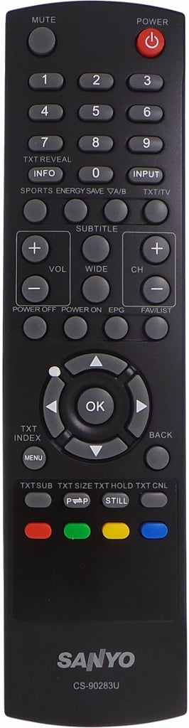 ORIGINAL Sanyo Remote Control Suits JXPYG -  LCD32K30TD LCD42K30TD LCD42K40TD  LCD TV - Remote Control Warehouse