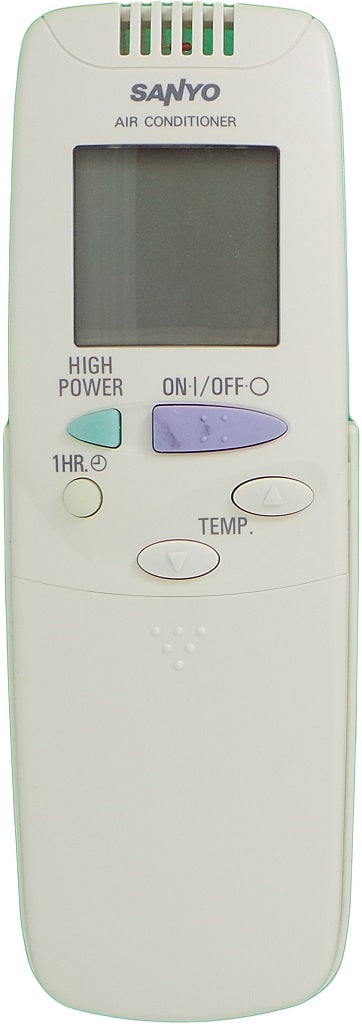 ORIGINAL  SANYO AIR CONDITIONER REMOTE CONTROL - RCS-3MVPS4E