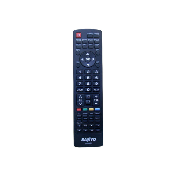 SANYO REMOTE CONTROL RCS071 RC-S071 LCD32XR10F LCD32XR11F - Remote Control Warehouse