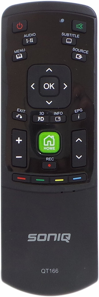 SONIQ Remote Control QT166 -  E42S14A  E47S14A  E55S14A  TV - Remote Control Warehouse