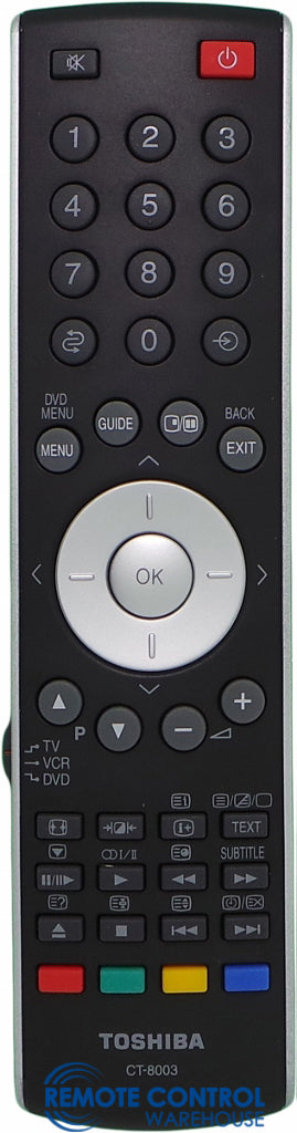 ORIGINAL TOSHIBA REMOTE CONTROL CT-8003 REPLACE CT-90283 CT90283 - 37X3000A 42X3000A 46X3000A 52X3000A 57X3000A