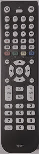 TOPFIELD REPLACEMENT  REMOTE CONTROL TP307  - TPR-5000 TPR5000 DVR PVR RECORDER - Remote Control Warehouse
