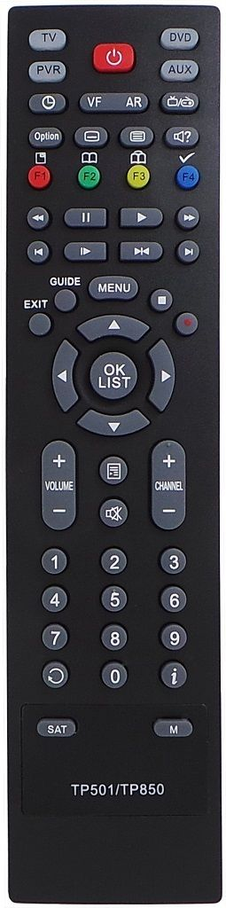 REPLACEMENT TOPFIELD REMOTE CONTROL FOR TP501 TRF-2400  TRF-2460Plus  TRF-2470 - Remote Control Warehouse