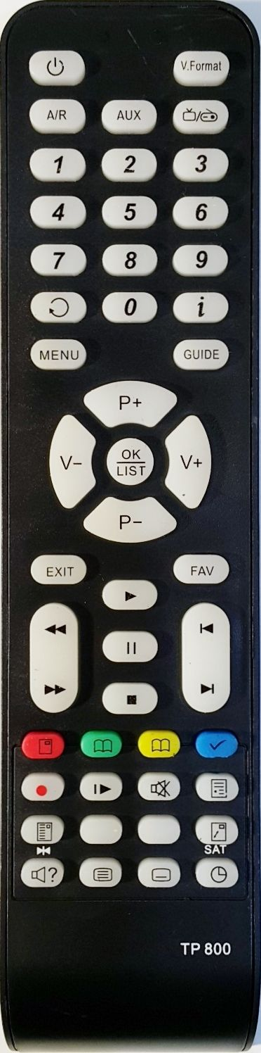 TOPFIELD REPLACEMENT REMOTE CONTROL  TP304 - TBF-7120 TBF7120 PVR RECORDER - Remote Control Warehouse